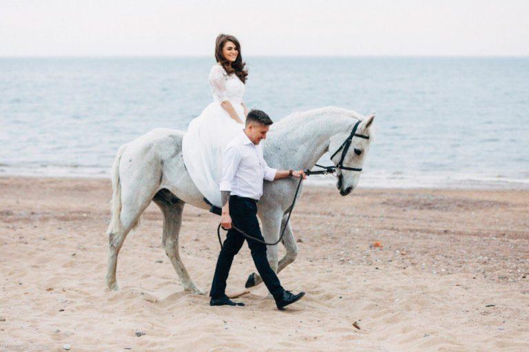 идея для свадебной фотосессии